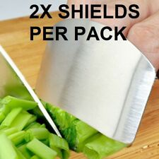 2 PK Knife Hand Guard Finger Protector Cutting Kitchen Cooking Tools Chop Safe