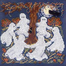 Ghost Dance Cross Stitch Kit Mill Hill 2010 Buttons & Beads Autumn