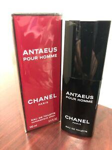 *VINTAGE FORMULA * CHANEL ANTAEUS POUR HOMME 3.4 FL oz EDT Spray, Made In FRANCE