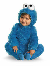 Cookie Monster Comfy Fur Costume S (2T)
