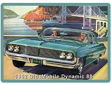 1962 OldsMobile Dynamic 88  Auto Car Refrigerator / Tool Box Magnet