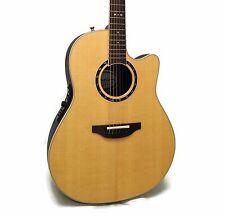 Ovation Standard Balladeer 2771AX Deep Contour Acoustic-Electric Guitar + Case