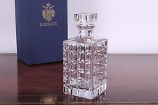 Faberge Aleksander Crystal Whiskey Decanter ~ New in Box!*