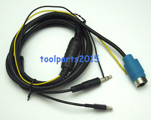 Charger AUX Audio Cable Adapter For Alpine KCE-237B CDA-105iPhone 5 5S 6 6S Plus