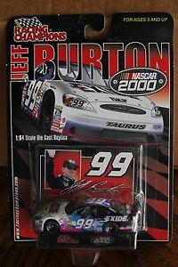 2000 Racing Champions 1/64 Jeff Burton #99 Exide Batteries Ford Taurus
