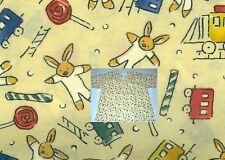 New Scrubs ~ Print Scrub Top ~ Small ~ Bunny Train