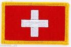 PATCH ECUSSON BRODE DRAPEAU SUISSE INSIGNE THERMOCOLLANT NEUF FLAG PATCHE