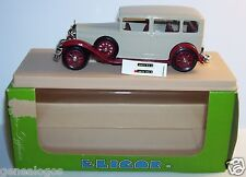 ELIGOR TALBOT LIMOUSINE PACIFIC 1930 REF 1036 BEIGE/ROUGE GRENAT 1/43 IN BOX