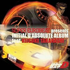 Initial D Absolute Album Super Eurobeat feat KEISUKE TAKAHASHI CD Music MIYA