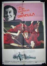 THE SATANIC RITES OF DRACULA,Christopher Lee,P. Cushing