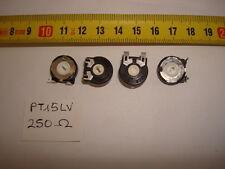 2 x POTENCIOMETROS - TRIMMERS. PIHER PCB PT15LV 250 Ohm (15mm. diametro Lineal)