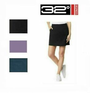 SALE!!! 32 Degrees Cool Ladies' Skort Skirt With Shorts - Variety | SIZE & COLOR