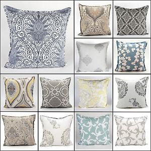 New Geometric Printed Luxury Cushion Cover Soft Cotton Home Sofa Decoration