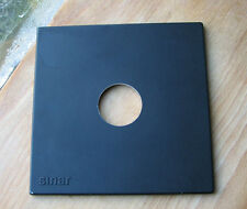 genuine Sinar F & P  lens board panel with copal compur 0 hole  34.4mm