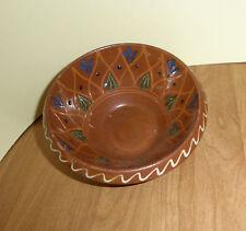 Keramikschüssel Franken Bauernhof shabby kitchen Küche bowl bemalt painted