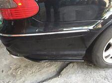 MERCEDES BENZ W211 AMG CARBON FIBER REAR BUMPER SIDE FIN EXTENSIONS FOR E55 E63