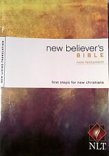 NEW BELIEVERS BIBLE-NEW TESTAMENT-NEW LIVING TRANSLATION-1ST STEPS FOR NEW CHRIS