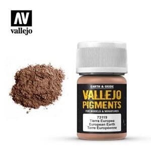 Vallejo Pigments 73.119 European Earth 30ml