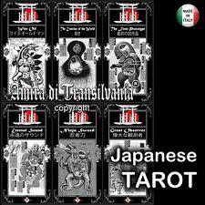 tarocchi giapponesi stampa orientale antichi mazzi di carte rare fumetti vintage