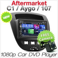 Toyota Aygo Citroen C1 Peugeot 107 Car DVD MP3 Player CD MP4 Radio Stereo USB KT