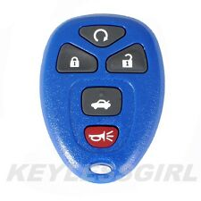 New Blue Replacement Remote Start Keyless Entry Key Fob Control For 15912860 5b