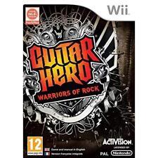 Guitar Hero 6: Warriors of Rock-Sólo Juego (Wii)