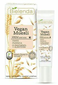 Bielenda VEGAN MUESLI Moisturizing & Soothing Eye Cream for Sensitive Skin 15ml