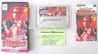 CONTRA SPIRITS BOXED KONAMI NINTENDO SUPER FAMICOM SFC SNES JAPAN