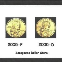 Kennedy Washington Sacagawea//Golden dollar WEB SET Jefferson Roosevelt