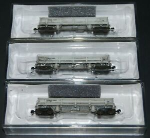 (3)-Walthers Difco Dump Car (3 Pack) Southern Pacific w/Load & Custom Weathering