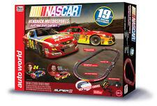 Auto World NASCAR Gordon Earnhardt Slot Car Race Set 19' AW HO Round 2 SRS316