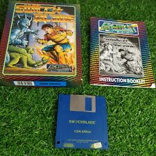 Switchblade  - Commodore CBM Amiga - Gremlin - Original And Complete - RARE