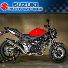 2017 SUZUKI SV650 SV 650 M4 EXHAUST RACE MOUNT FULL STAINLESS SYSTEM POLISHED