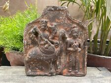 17 Ancient Stone God Ride Rooster Goddess Deity South India Rare Figurine Statue