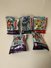 Wendys Kids Meal 2019 Transformers Figures lot of 5 Happy Meal Bumblebee
