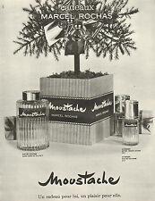 Advertising Presse Autres Moustache Parfum Rochas De 1977 Publicité 3TJuKFcl1