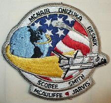 RARE 1986 PATCH CHALLENGER SPACE SHUTTLE DISASTER