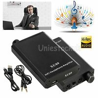 Portable Digital Hifi Music Headphone Amplifier MP3 Phone AMP USB Rechargeable