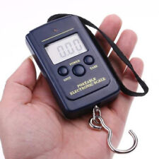 10g-40Kg Digital Balance Pocket Hanging Hook Scale Luggage Fishing Weight I1C7