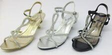 Anne Michelle Kitten Heel Synthetic Shoes for Women