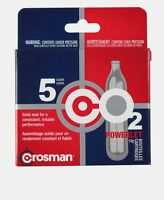5pk Crosman CO2 Powerlet Cartridge Gun Gas Pellet Airsoft BB Pellet 12 Gram NEW!