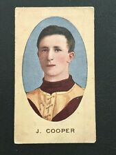 1910 SNIDERS & ABRAHAMS CIGARETTE CARDS HEAD IN OVAL SERIES E J COOPER FITZROY