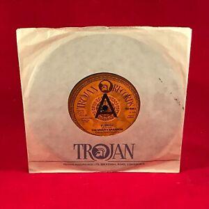 The Mighty Sparrow El Reloj 1978 GB 17.8cm Vinyle Simple Excellent État Trojan