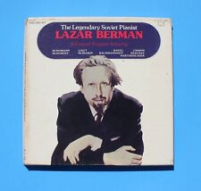LAZAR BERMAN Piano - A Concert Program - MURRAY HILL 943492 - 4 LP Set Box
