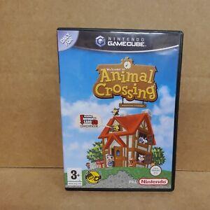 Animal Crossing Nintendo GameCube Game PAL - Manual + Memory Card Included (L33)