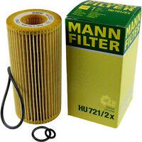 Original MANN-FILTER Ölfilter Oelfilter HU 721/2 x Oil Filter