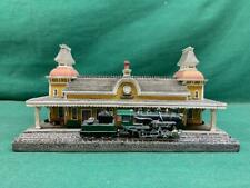 Danbury Mint Collectable Historic Rr Stations The North Conway Railroad Station