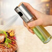 Ölsprüher Essigsprüher Edelstahl Essig & Öl Zerstäuber Ölspender Sprühflasche