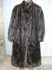 Manteaux et vestes noirs en fourrure pour femme taille 42