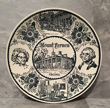 Vintage Mount Vernon 10� Collector's Plate